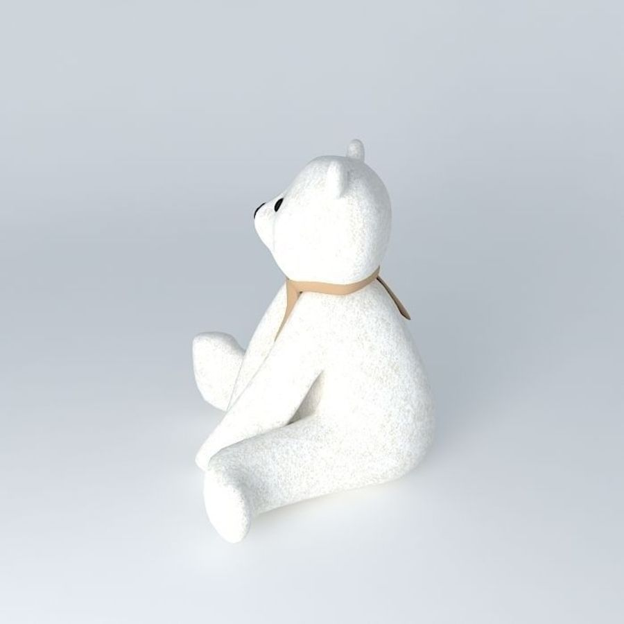 Knut polar bear royalty-free 3d model - Preview no. 2