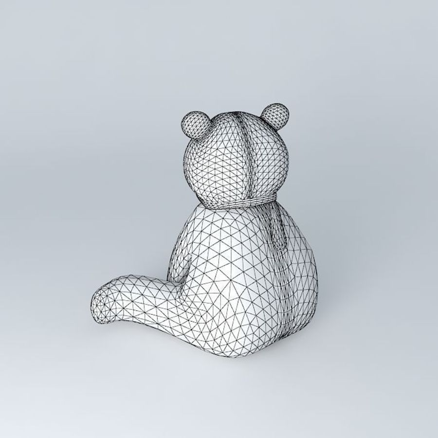 Knut polar bear royalty-free 3d model - Preview no. 5