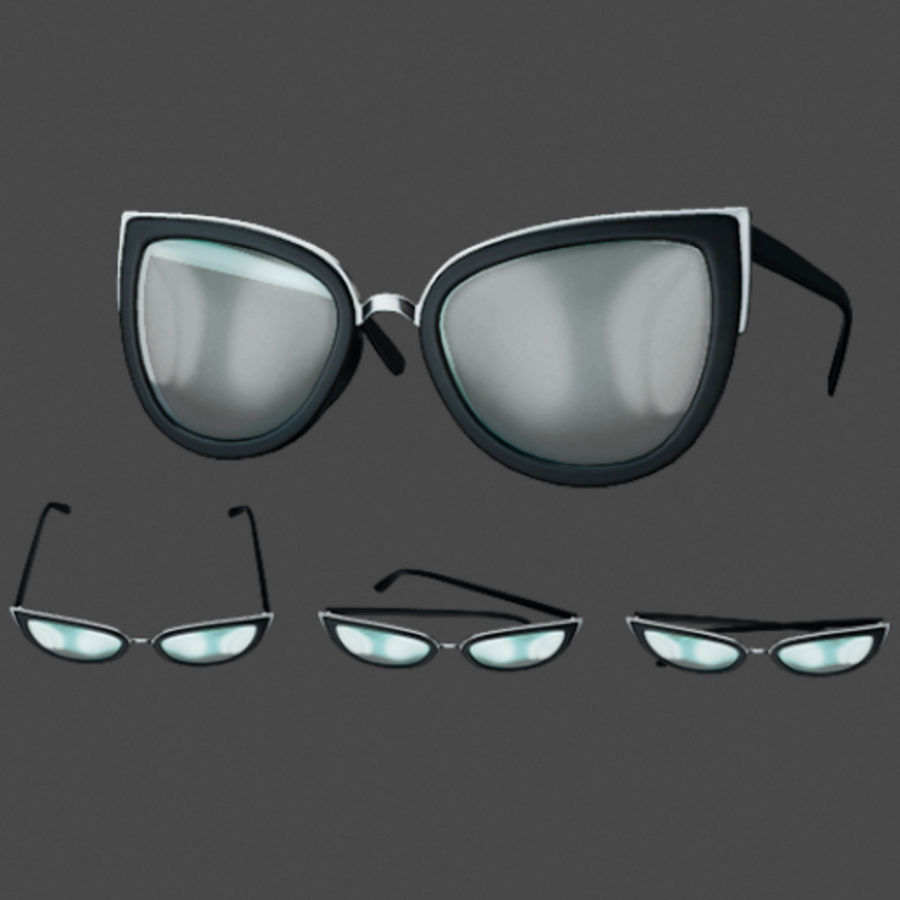 Sunglasses royalty-free 3d model - Preview no. 1