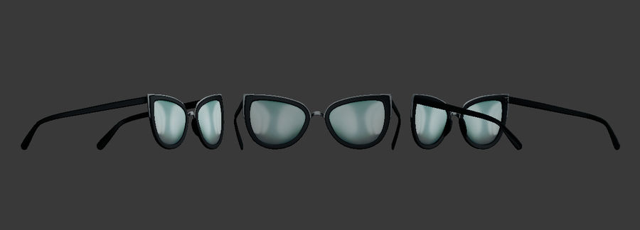 Sunglasses royalty-free 3d model - Preview no. 2