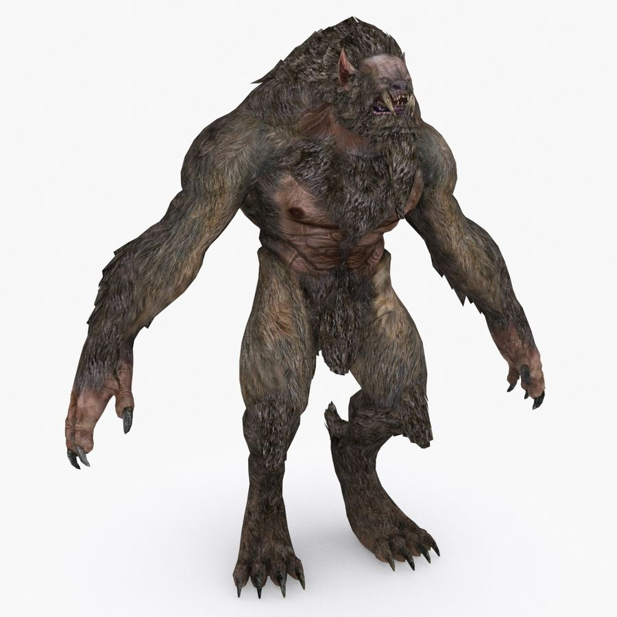 Fantasy karaktär typ 1 royalty-free 3d model - Preview no. 1