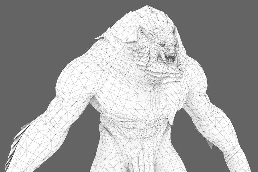 Personaje de fantasía tipo 1 royalty-free modelo 3d - Preview no. 1