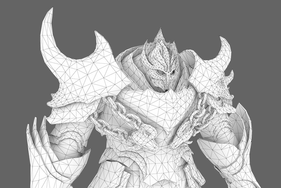 Fantasy character type 2 royalty-free 3d model - Preview no. 11