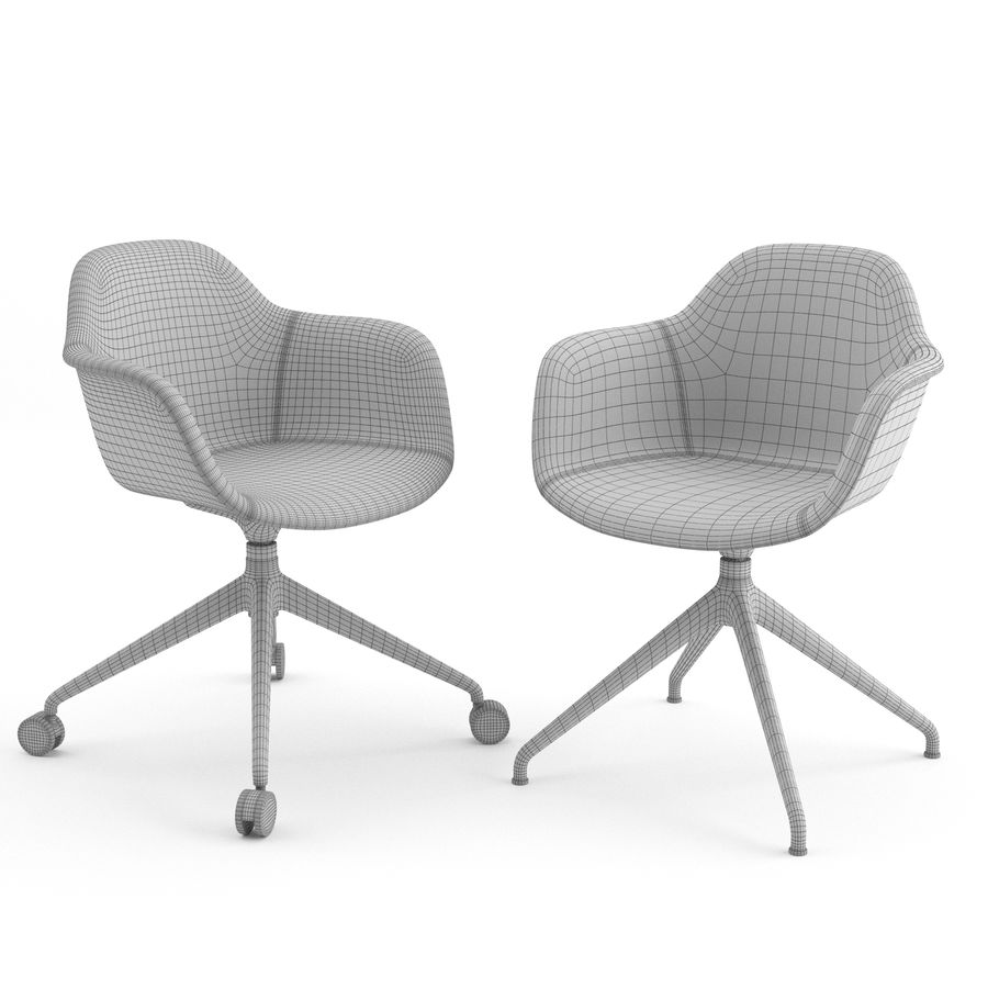Arena Chairs by ICONS OF DENMARK royalty-free 3d model - Preview no. 7
