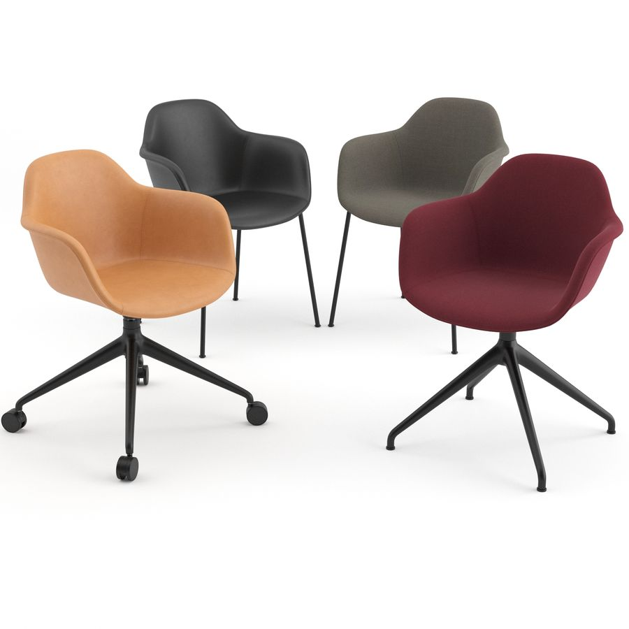 Arena Chairs by ICONS OF DENMARK royalty-free 3d model - Preview no. 1