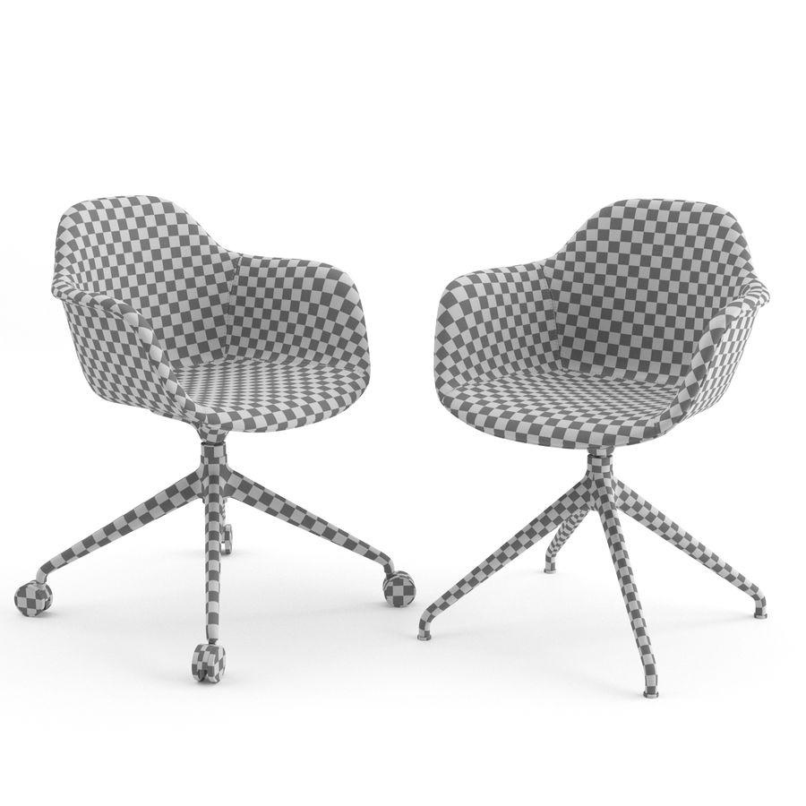 Arena Chairs by ICONS OF DENMARK royalty-free 3d model - Preview no. 8
