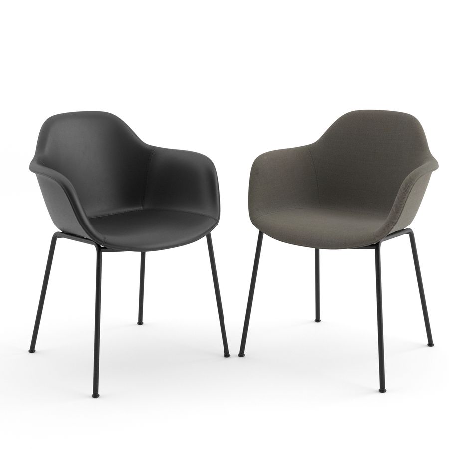 Arena Chairs by ICONS OF DENMARK royalty-free 3d model - Preview no. 3