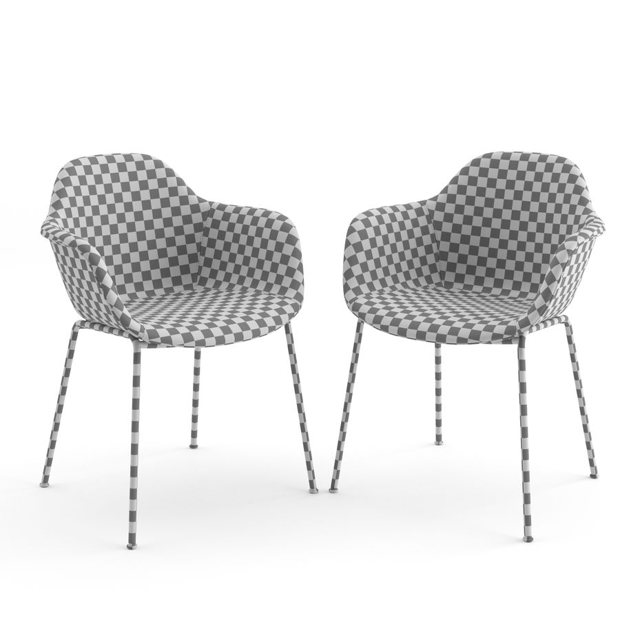 Arena Chairs by ICONS OF DENMARK royalty-free 3d model - Preview no. 5