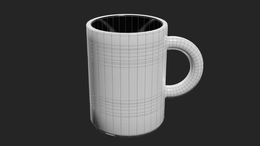 Coffee Cup royalty-free 3d model - Preview no. 2