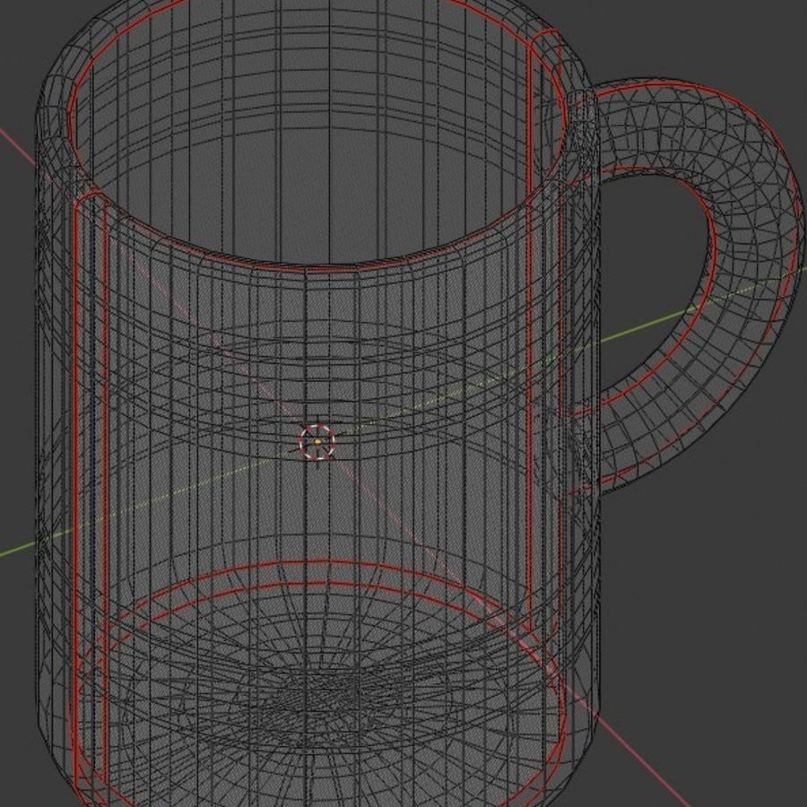 Coffee Cup royalty-free 3d model - Preview no. 13