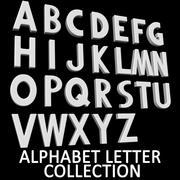 Alphabet 3d model