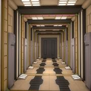Couloir Sci Fi 3d model