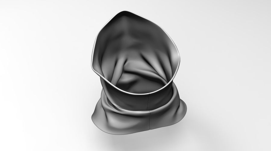 BaLaclava Maskesi royalty-free 3d model - Preview no. 4