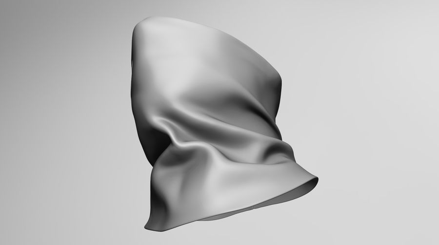 BaLaclava Maskesi royalty-free 3d model - Preview no. 5