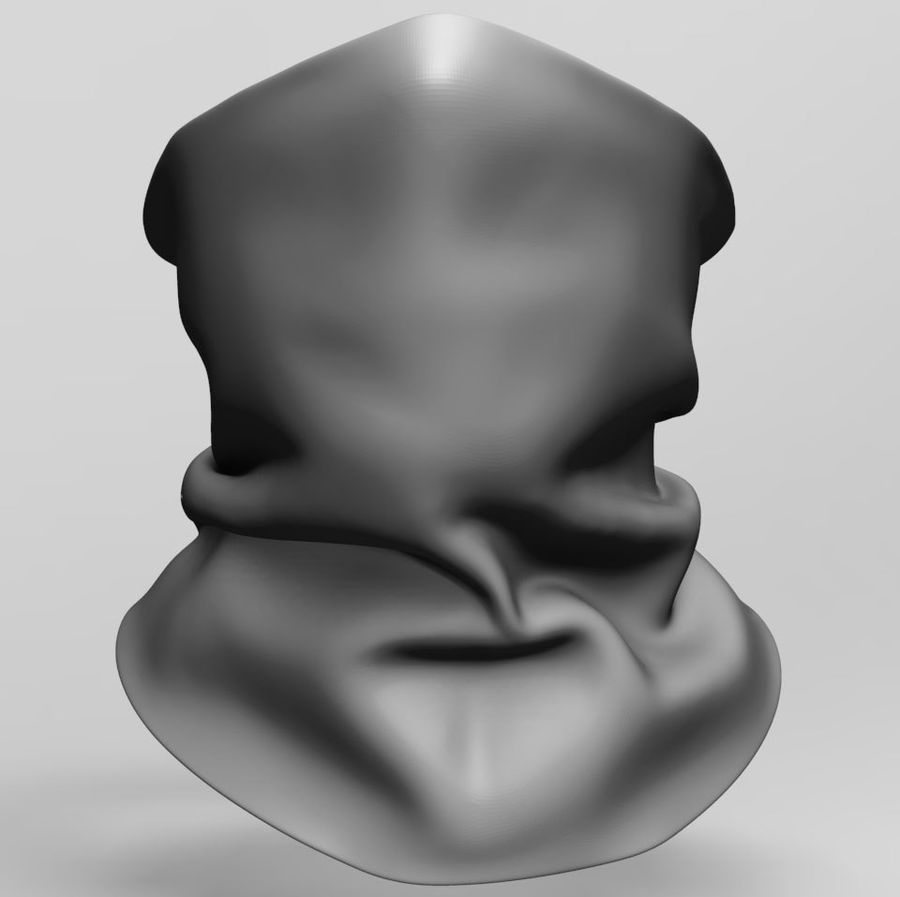 BaLaclava Maskesi royalty-free 3d model - Preview no. 1
