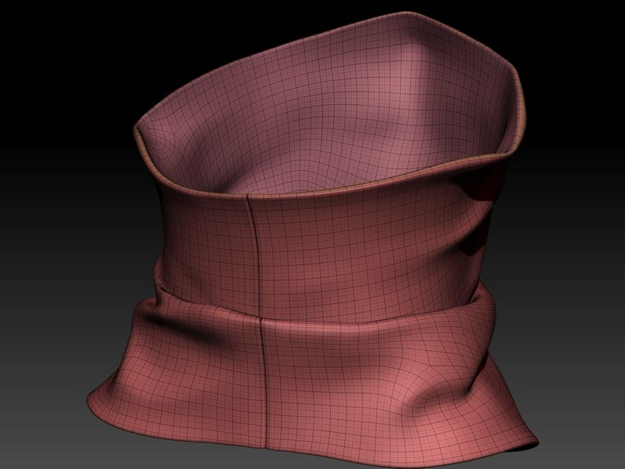 BaLaclava Maskesi royalty-free 3d model - Preview no. 18