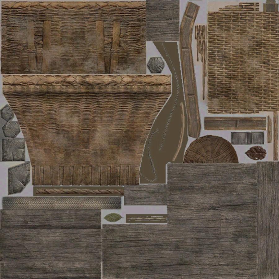 Mittelalterliche Chinakonstruktionen royalty-free 3d model - Preview no. 27