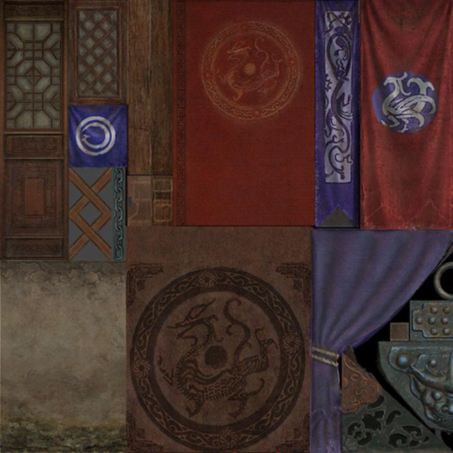 Mittelalterliche Chinakonstruktionen royalty-free 3d model - Preview no. 26