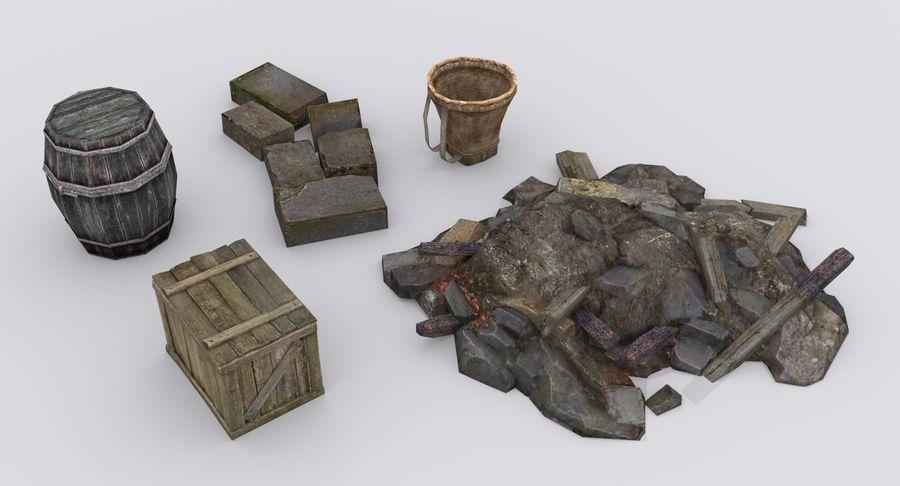 Mittelalterliche Chinakonstruktionen royalty-free 3d model - Preview no. 8