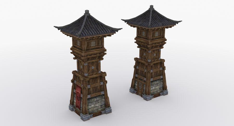 Mittelalterliche Chinakonstruktionen royalty-free 3d model - Preview no. 12