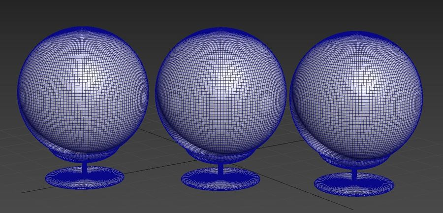 Moon Lamp royalty-free 3d model - Preview no. 5