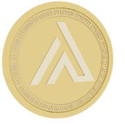 apollo currency gold coin 3d model