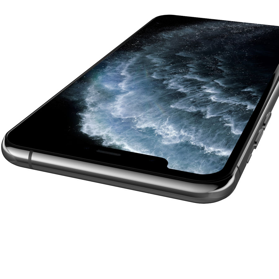 iPhone 11 Pro royalty-free 3d model - Preview no. 7