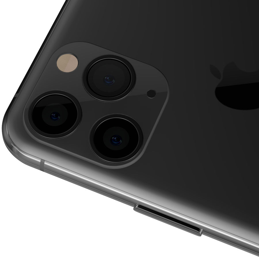 iPhone 11专业版 royalty-free 3d model - Preview no. 2