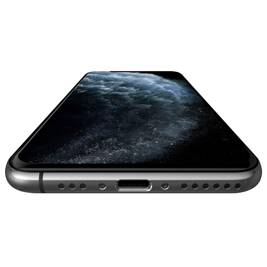 iPhone 11 Pro royalty-free 3d model - Preview no. 6
