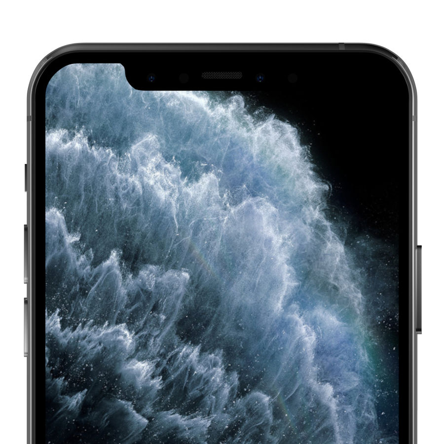 iPhone 11 Pro royalty-free 3d model - Preview no. 10