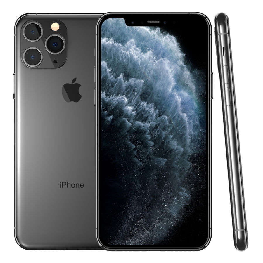 iPhone 11专业版 royalty-free 3d model - Preview no. 1