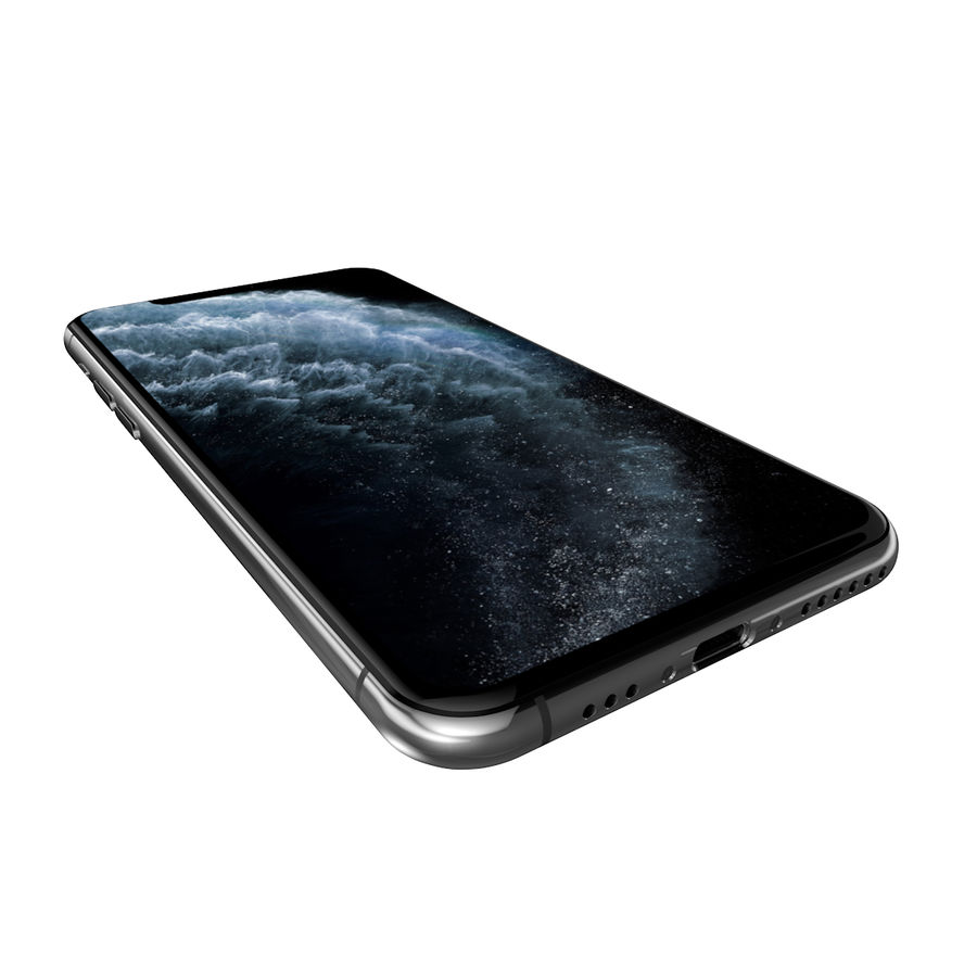 iPhone 11 Pro royalty-free 3d model - Preview no. 5