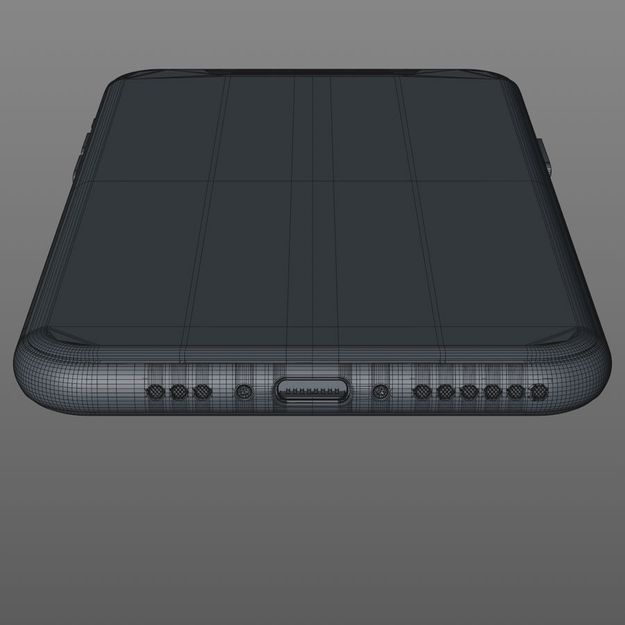 iPhone 11 Pro royalty-free 3d model - Preview no. 17