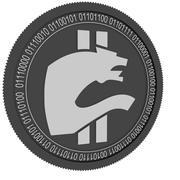 moeda buggira zero moeda preta 3d model