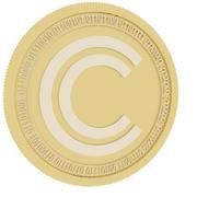 clippper coin gold coin 3d model