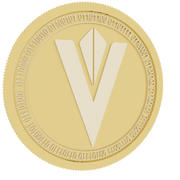 content value network gold coin 3d model