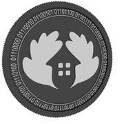 生态房地产黑硬币 3d model