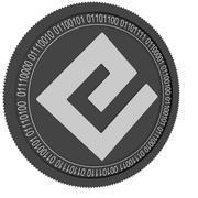 energi moneta nera 3d model