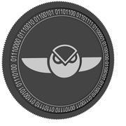 moeda de gnose preta 3d model