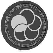 japan content black coin 3d model