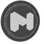 matic network black coin 3d model