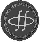 牛顿黑硬币 3d model