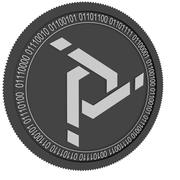 质子令牌黑色硬币 3d model