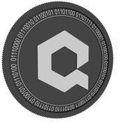 ilościowa czarna moneta 3d model