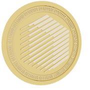 ren guldmynt 3d model