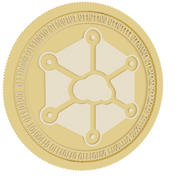 storj gold coin 3d model