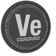 czarna moneta veritaseum 3d model