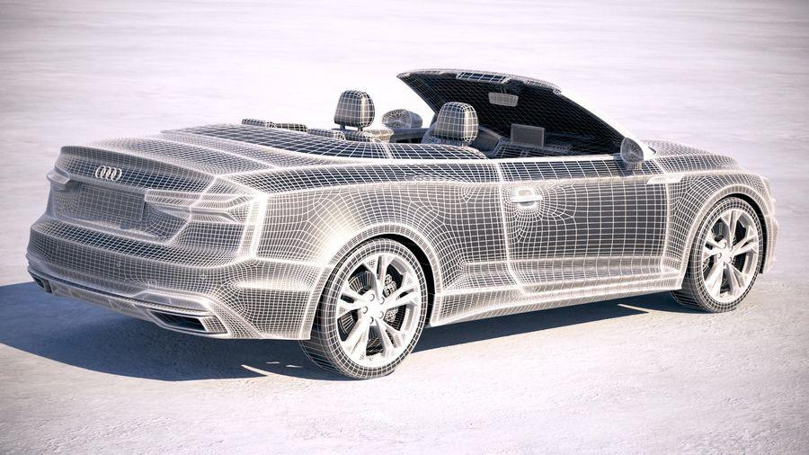 Audi A5 Cabrio 2020 royalty-free 3d model - Preview no. 26