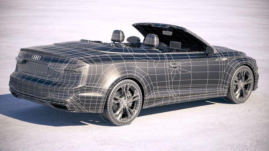 Audi A5 Cabrio 2020 royalty-free 3d model - Preview no. 28