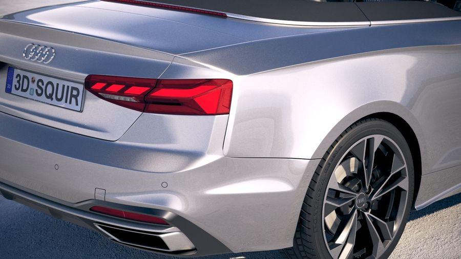 Audi A5 Cabrio 2020 royalty-free 3d model - Preview no. 4